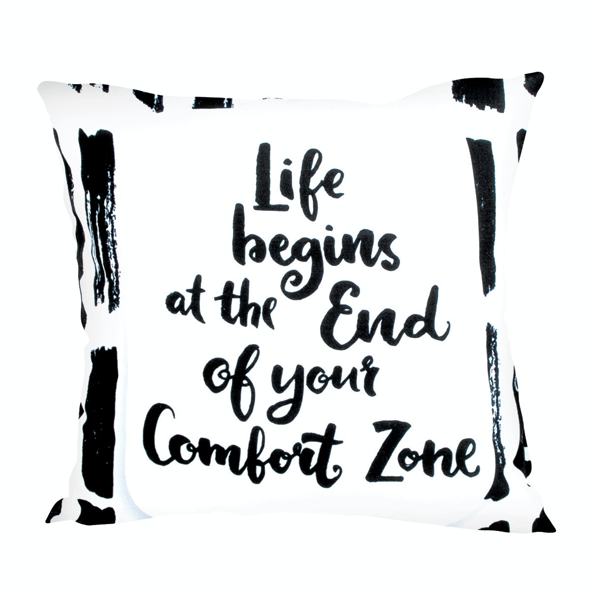 Glerry Home Decor Life Begins Cushion 40X40cm