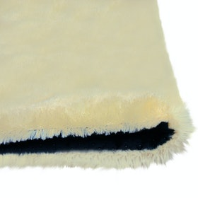 Glerry Home Decor Square Cream Fur Rug 300x150cm
