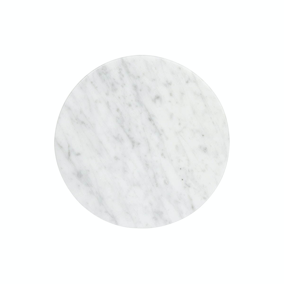 Glerry Home Decor Round White Moonstone Marble D15