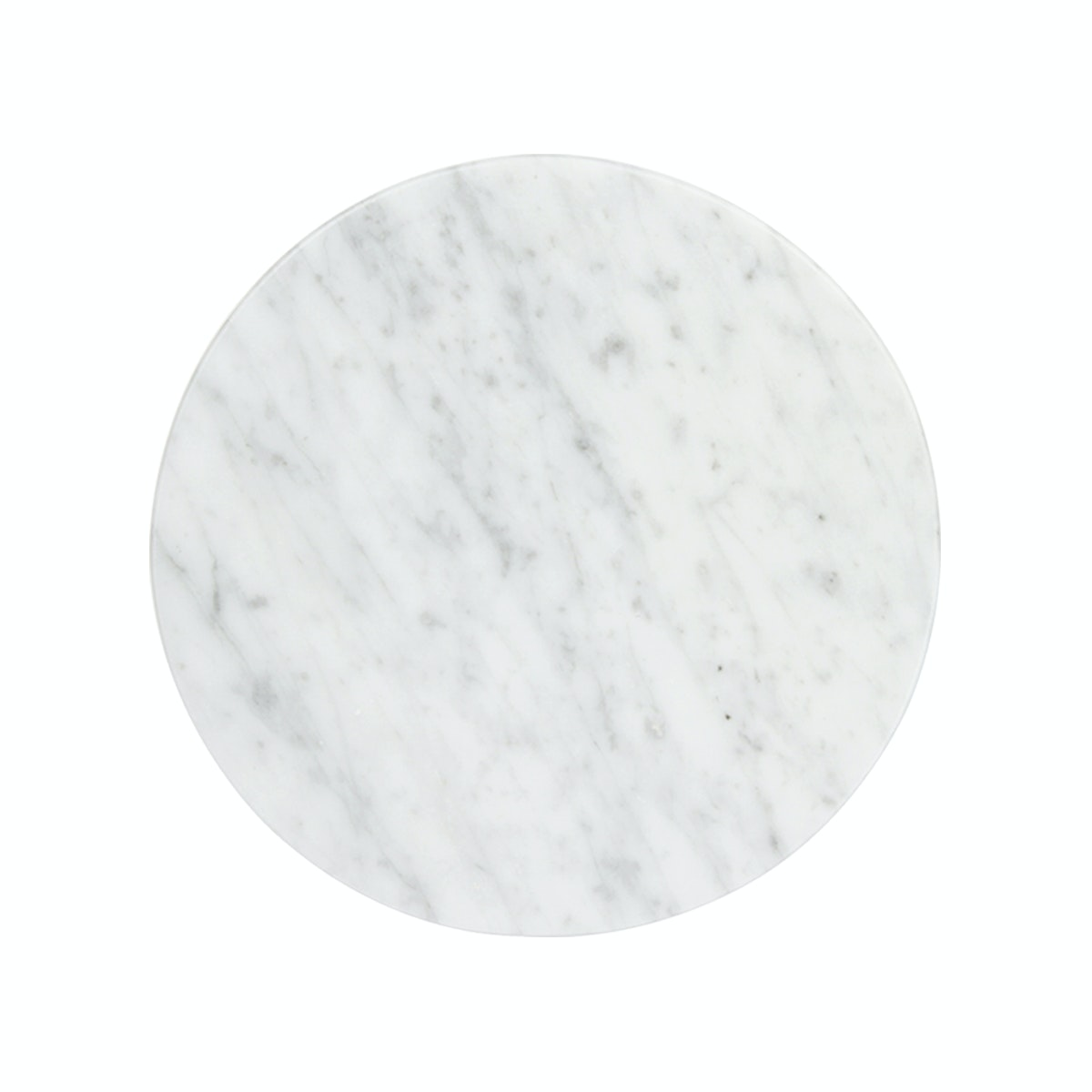 Glerry Home Decor Round White Moonstone Marble D20