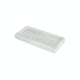 Glerry Home Decor Tray White Moonstone Marble 2510