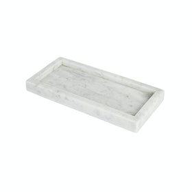 Glerry Home Decor Tray White Moonstone Marble 2515