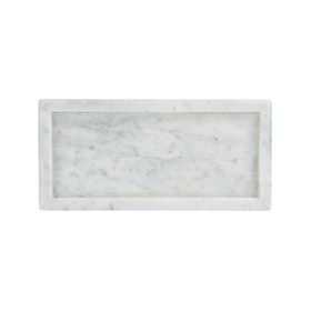 Glerry Home Decor Tray White Moonstone Marble 2920