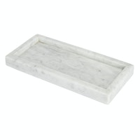 Glerry Home Decor Tray White Moonstone Marble 2917