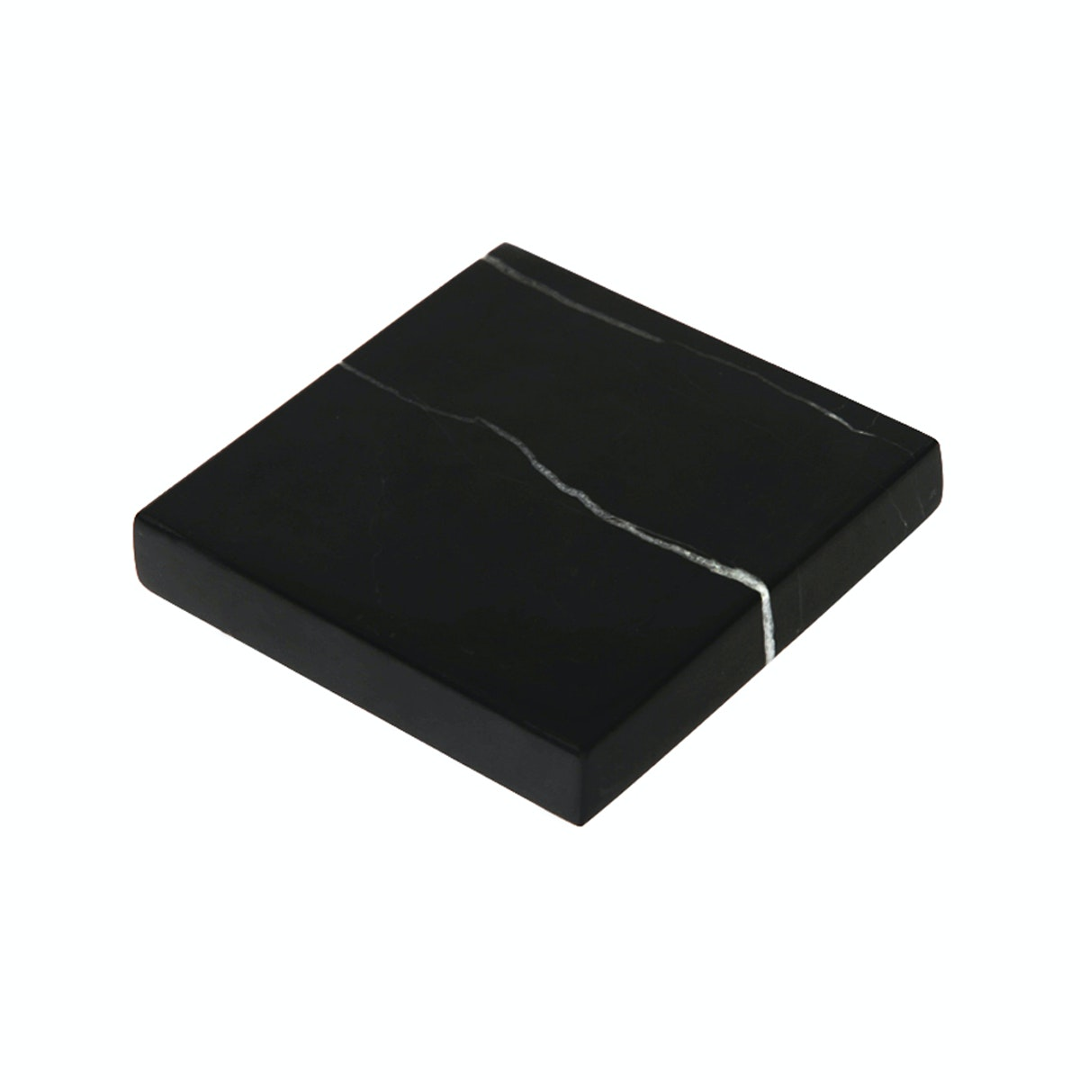 Glerry Home Decor Square Black Zircon Marble D15