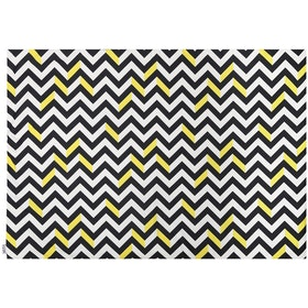 Glerry Home Decor Sunglow Chevron Rug 100x140cm