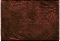 Glerry Home Decor Square Chocolate Fur Rug 100x150cm