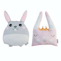Glerry Home Decor Boneka Bunny Hop Hop Set