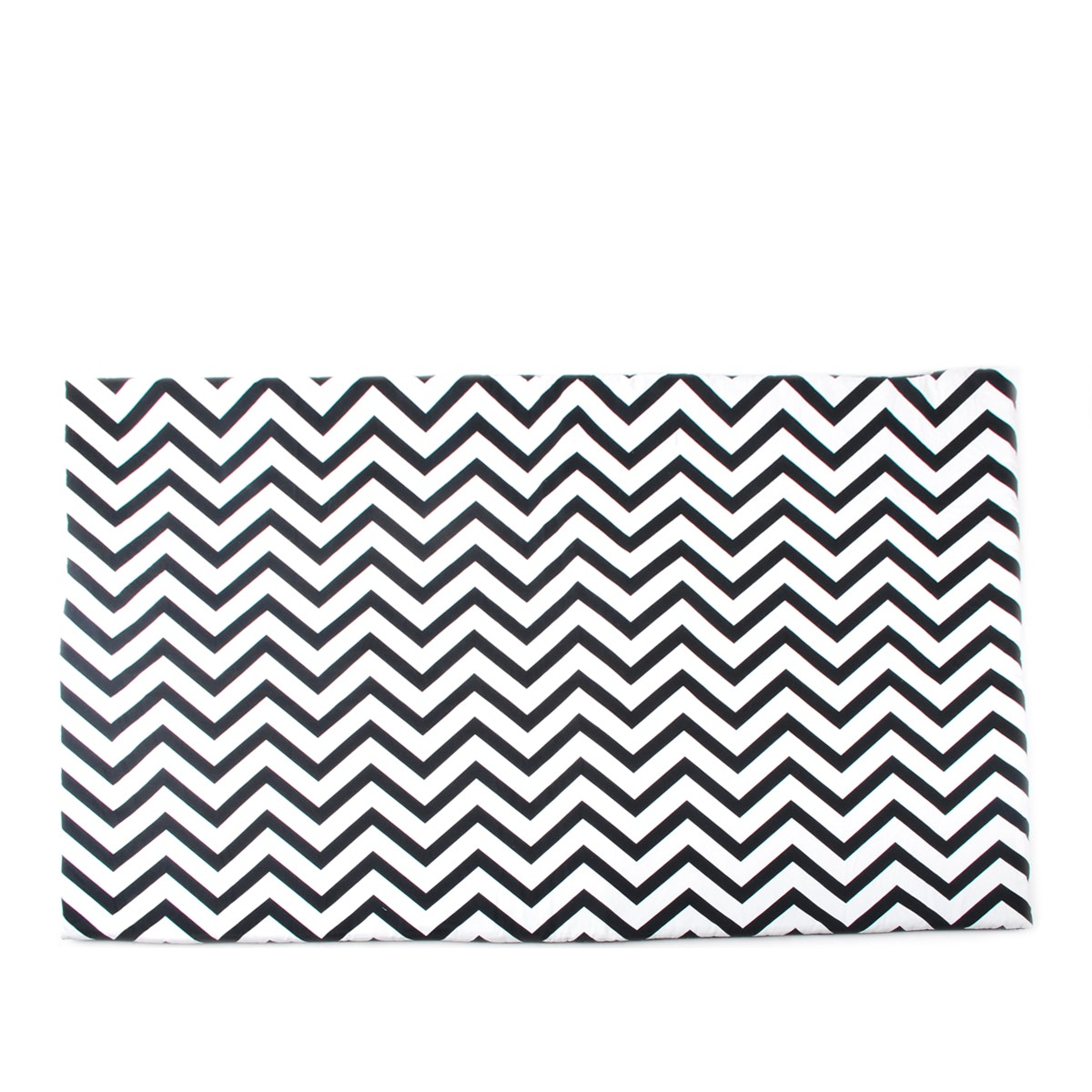 Glerry Home Decor Black Chevron Rug 140x200cm