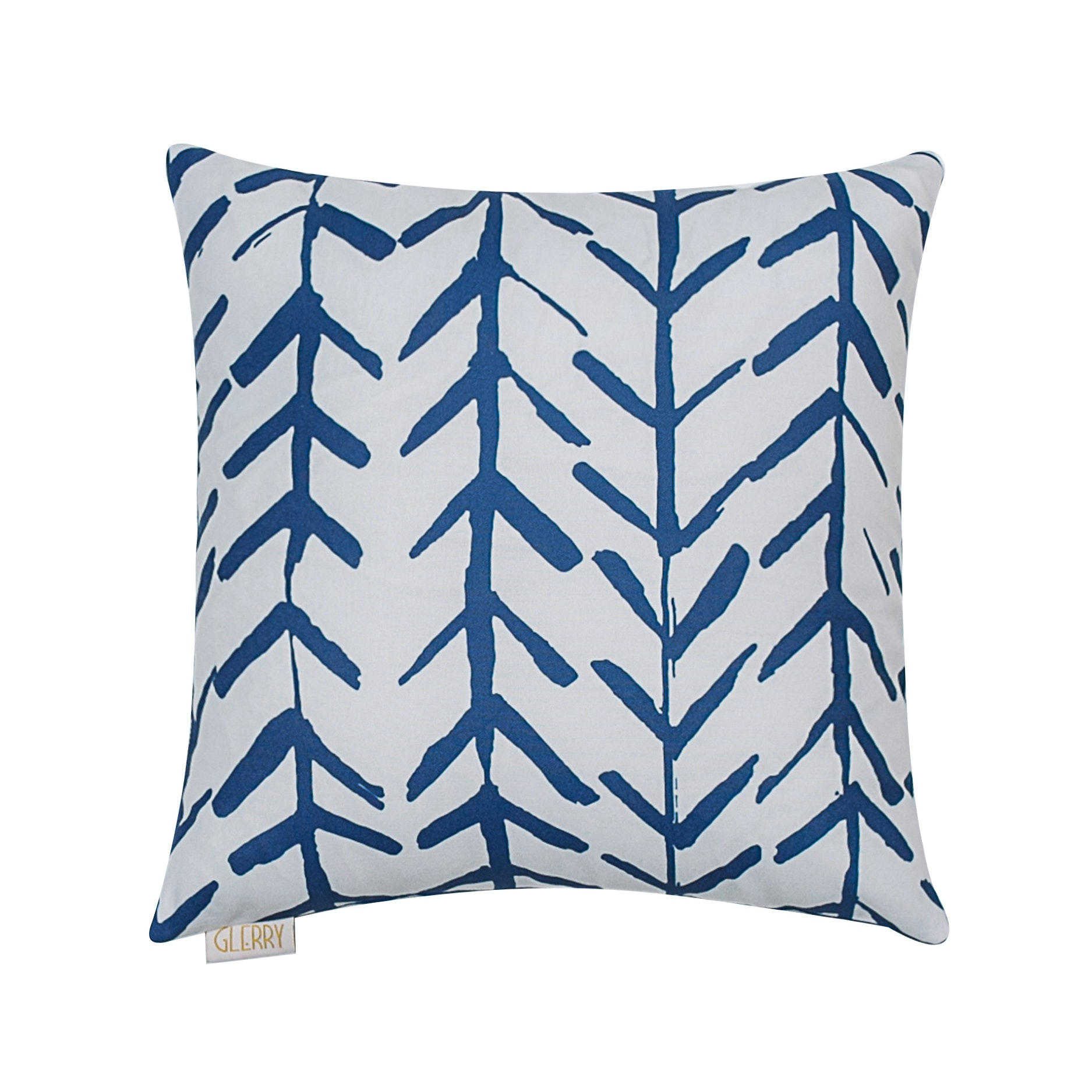 Glerry Home Decor Blue Arrow Cushion+Insert 40x40cm