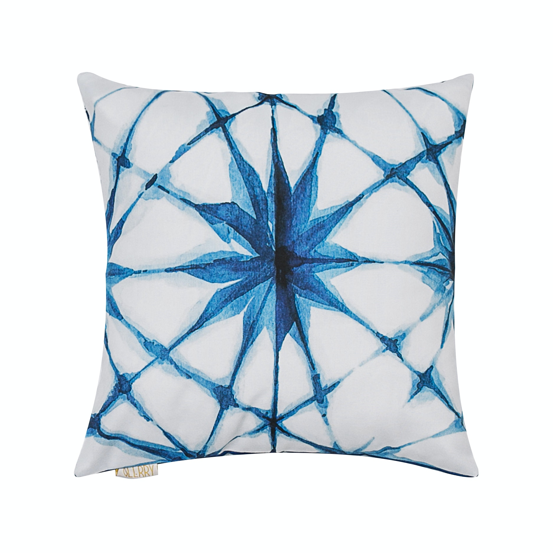 Glerry Home Decor Blue Star Cushion+Insert 40x40cm