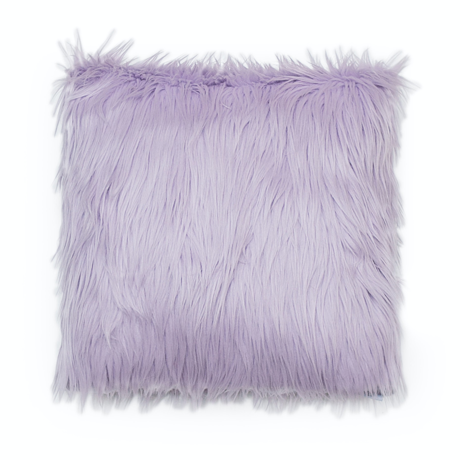 Glerry Home Decor Periwinkle Fur Cushion 40x40cm