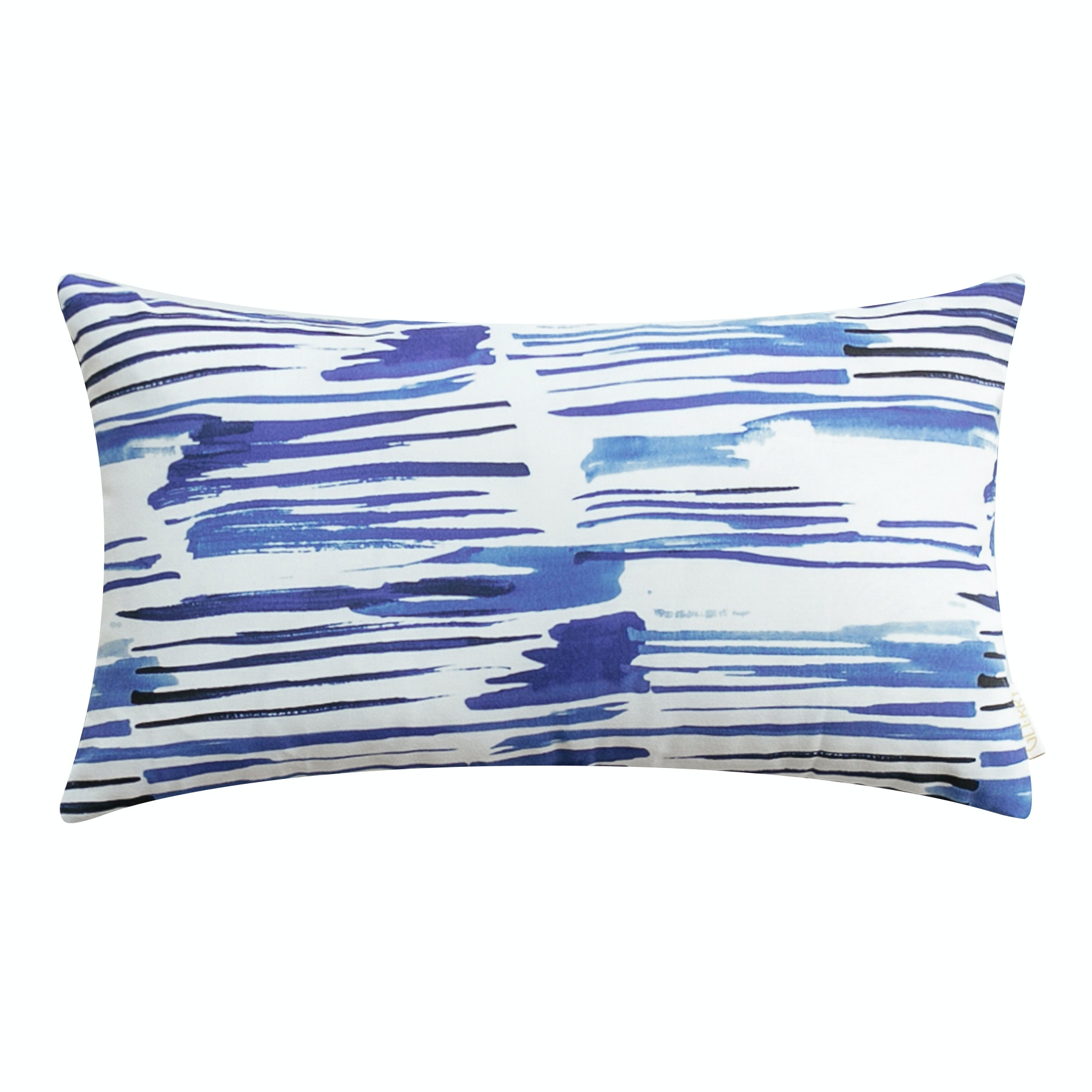 Glerry Home Decor Blue Lines Cushion 50x30cm (Insert+Cover)