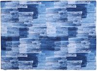 Glerry Home Decor Prussian Blue Rug 200x140cm