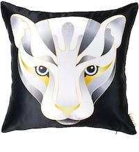 Glerry Home Decor White Panther Cushion+Insert 40x40cm