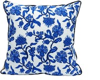 Glerry Home Decor Ivory Floral Cushion 40x40cm