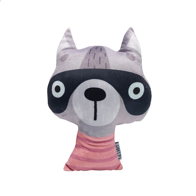 Glerry Home Decor Boneka Royce The Racoon