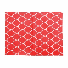 Glerry Home Decor Red Passion Alas Piring