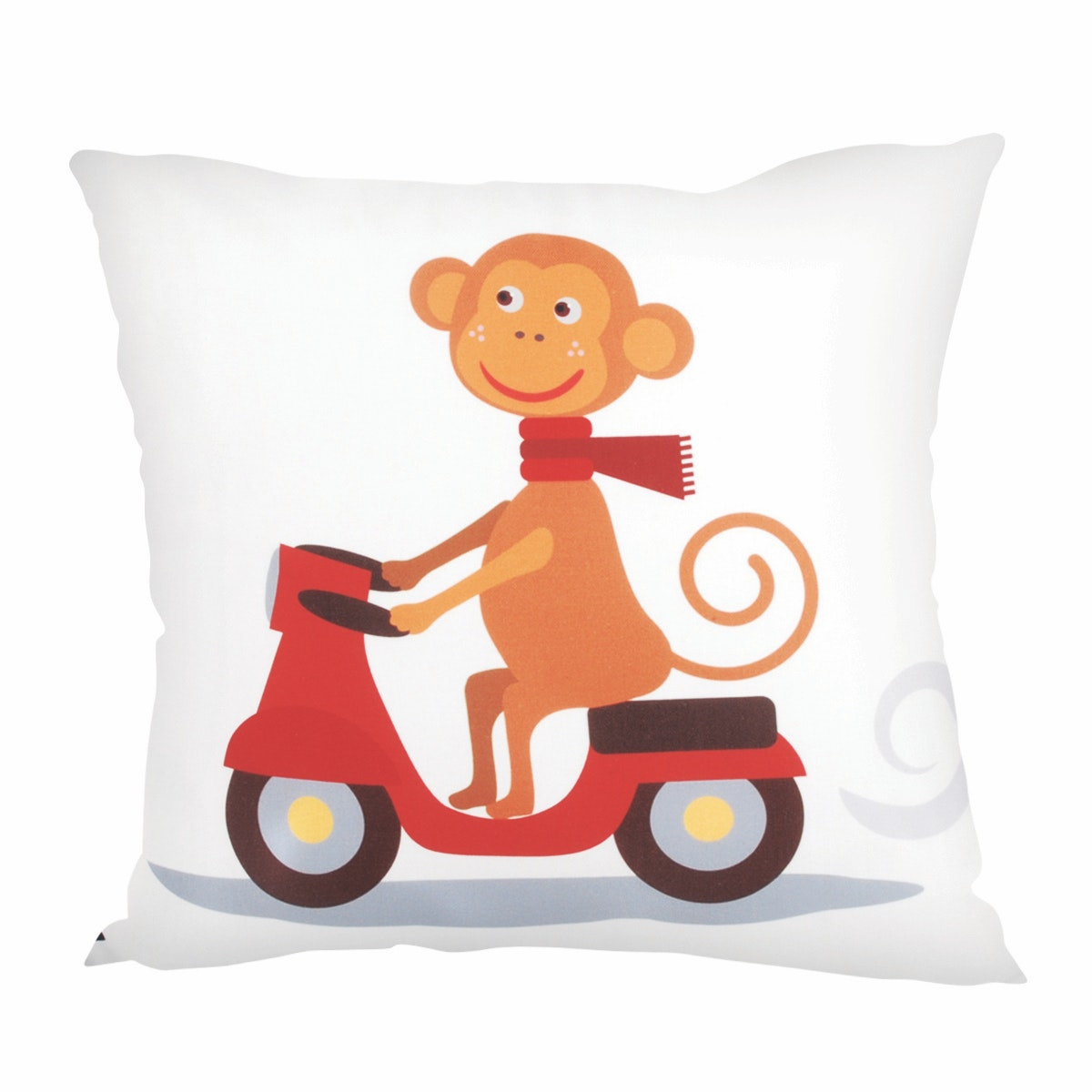 Glerry Home Decor Scooter Monkey Cushion 40x40cm