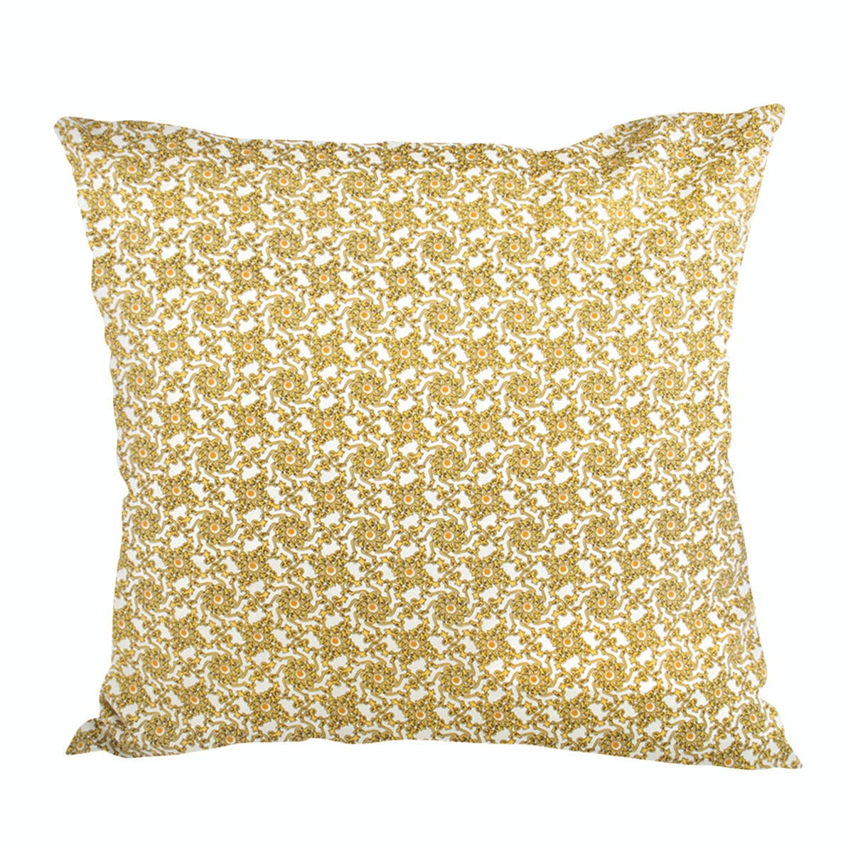 Glerry Home Decor Yellow Groove Cushion 45x45cm