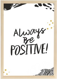 Gulaliku Hiasan Dinding - Always Be Positive