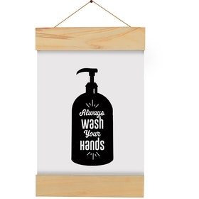Gulaliku Hanging Frame for bathroom - Wash your hand