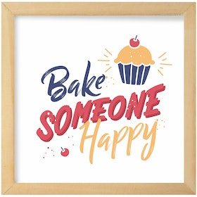 Gulaliku Hiasan Dinding Dining Room - Bake Someone Happy