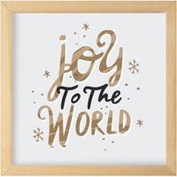 Gulaliku Hiasan Natal -  Joy To The World