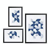 Gulaliku Poster Printing Bundle Dinamic Blue Black