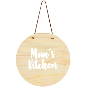 Gulaliku Hanging Plaque Mom's Kitchen