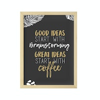 Gulaliku Hiasan Dinding - Good Ideas Good Coffee