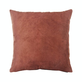 Le Atelier Glossy Dark Brown Cushion Cover 45x45cm