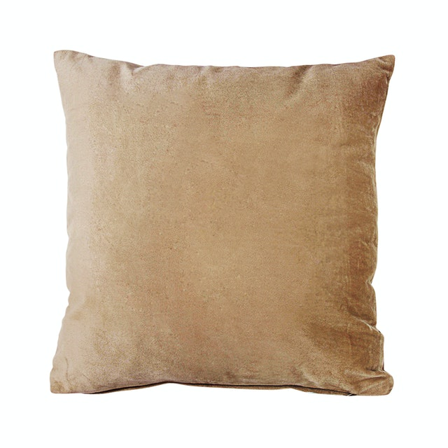 Le Atelier Glossy Mocca Cushion Cover 45x45cm