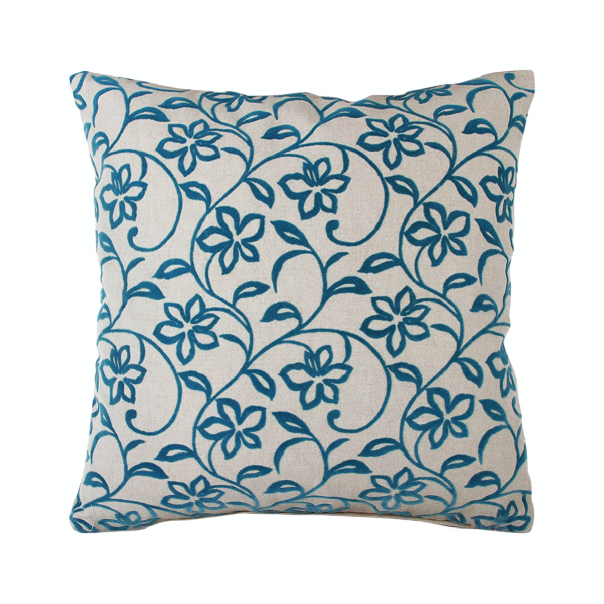 Le Atelier Florenza Teal Cushion Cover 45x45cm
