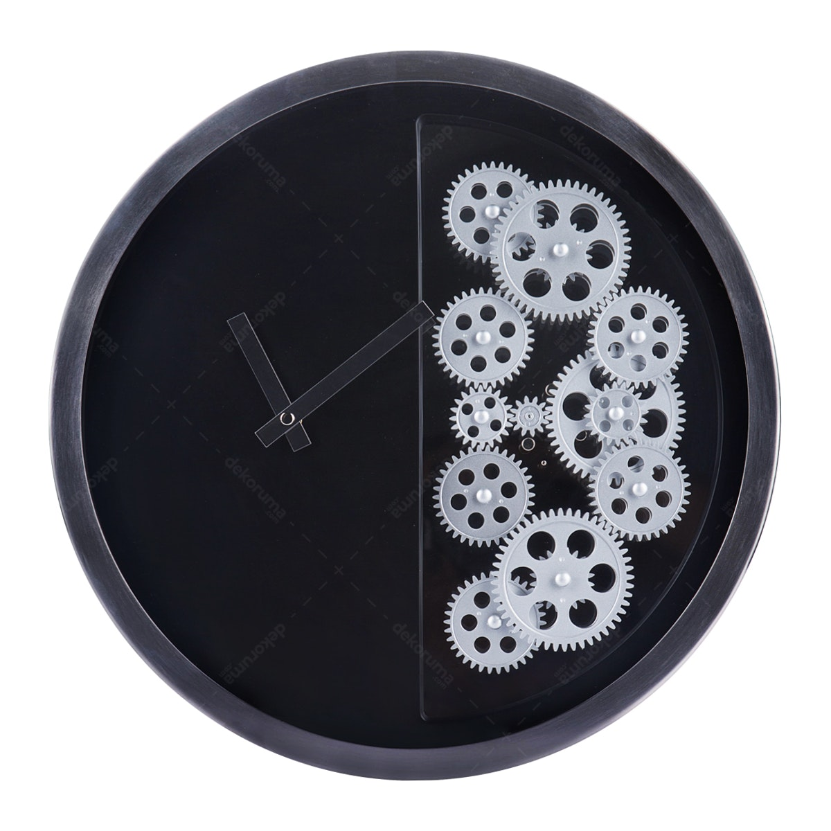 Gearclock Metal Wall Gear Clock HY-G055-B