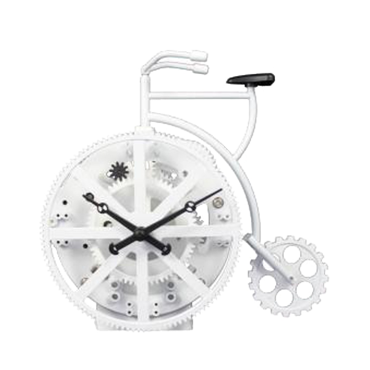 Gearclock Bike Table Clock White