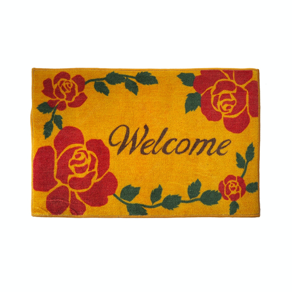 Lanamora Keset Anti Slip Doormat Welcome - Yellow