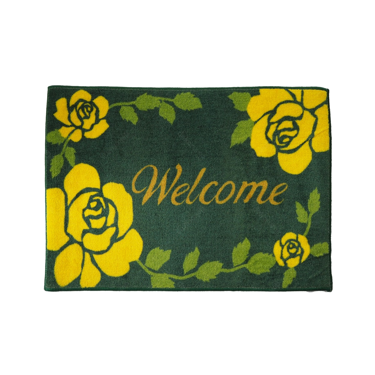 Lanamora Keset Anti Slip Doormat Welcome - Green