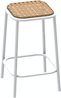 Grrad Parc - Counter stool White