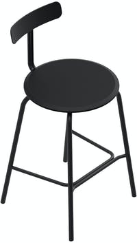 Grrad Shaw Counter Stool Black
