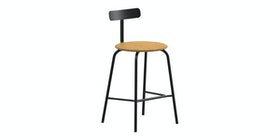 Grrad Shaw Counter Stool Natural Black
