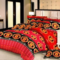 Pesona Set Sprei Motif Manchester United Uk 180 T20