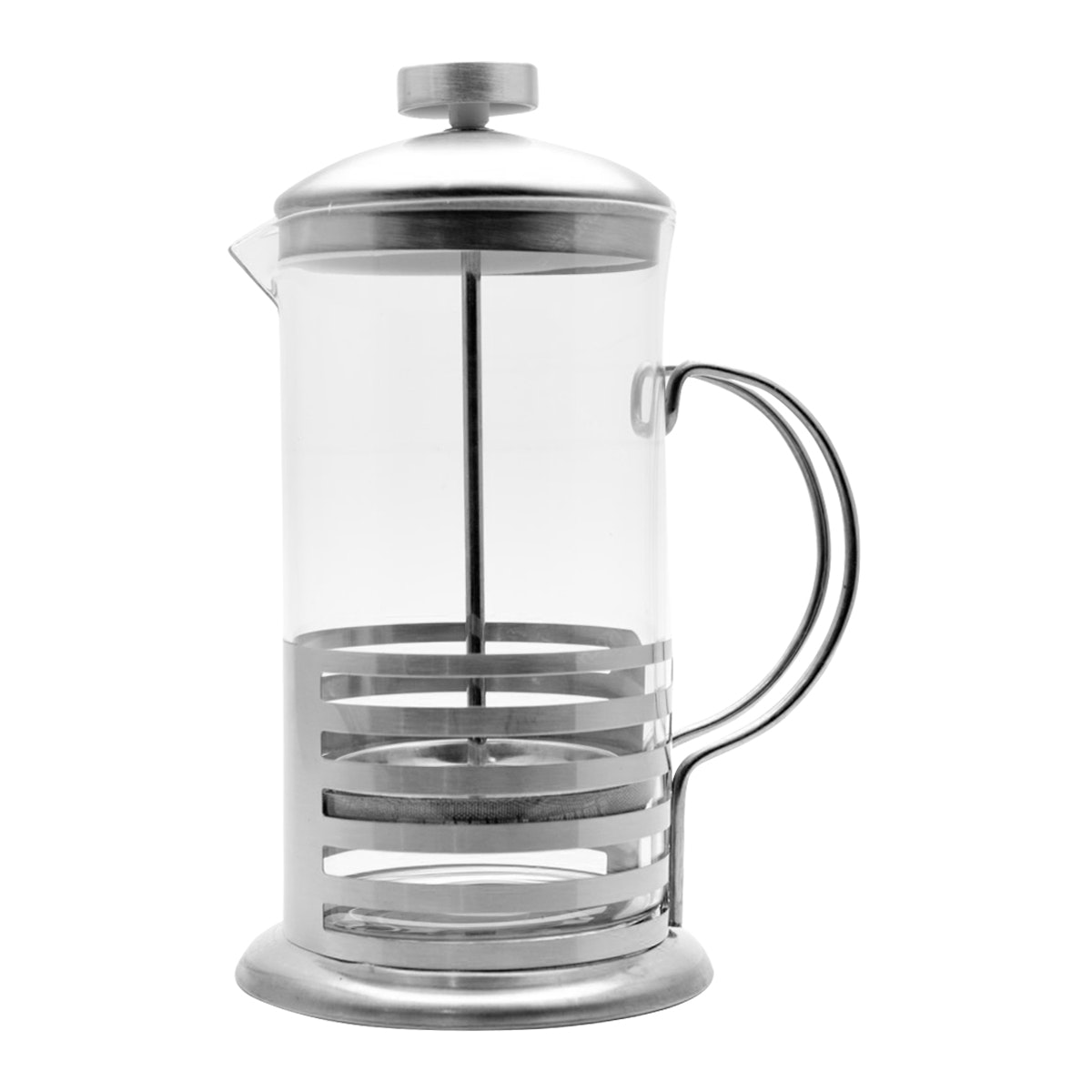 OEM French Press Plunger Stainless Extra Finish 600 Ml YT600 - Perak