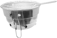 QueenSense Korea Barbeque/Barbecue/BBQ Grill Stainless Portable 28cm