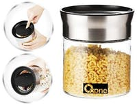 Oxone OX-309S Small Round Storage Jar - Glass