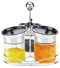Oxone OX-327 Jam Jar Set 3Pcs - Stainless