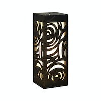 Hermosa Table Lamp/Lampu Meja/Lampu Hias Flower (Black)