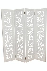 Hermosa Partisi Floruz White 160x180
