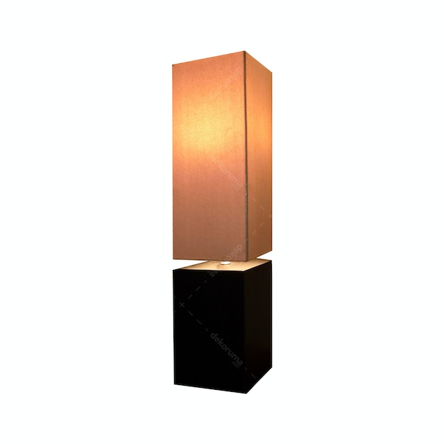 Hermosa Table Lamp/Lampu Meja Dome Shade Cream