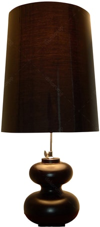 Hermosa Table Lamp/Lampu Meja Sexy Brown